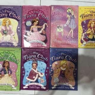 The Tiara Club Story Books