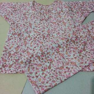 baju kurung cotton lembut