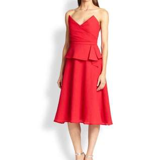 BCBG Max Azria Midi Cocktail Dress