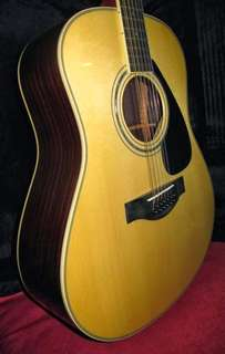 Yamaha LL16-12 12strings Full Solid wood Guitar