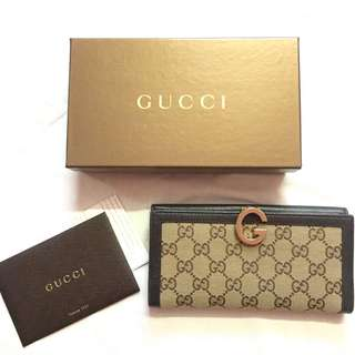 Gucci Long Wallet (Authentic)