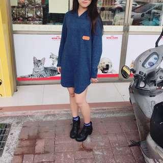 🚚 連身洋裝(藍色/草綠)