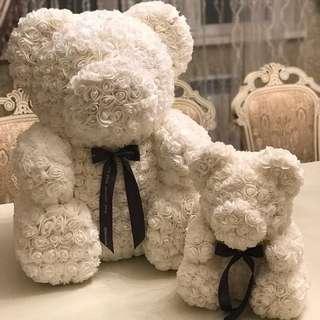 60cm Roses Teddy Bear *promo*