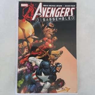 Marvel Comics Avengers Disassembled TPB Bendis