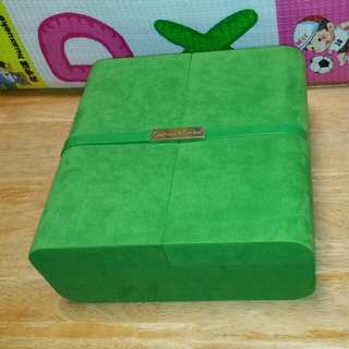 Crabtree & Evelyn 綠色) 首飾盒, 化妝盒