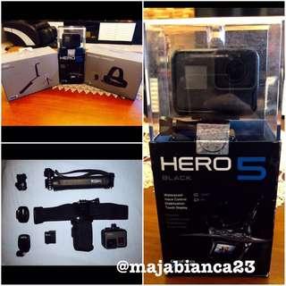 Go Pro Hero 5 with Accessories