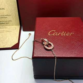 Cartier necklace 18k gold  $500