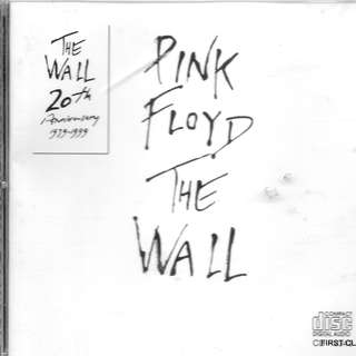 MY PRELOVED CD - PINK FLOYD THE WALL/FREE DELIVERY (F7e)