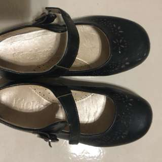 Kickers Black Shoes