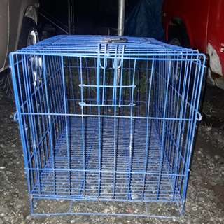 Blue small - medium cage