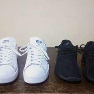 Kaishi triple black & stan smith bold