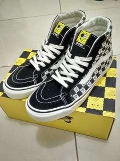 Vans Vault OG Sk8-Hi LX ( Spongebob ) Checkerboard
