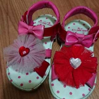 Why & 1/2 女童涼鞋 21碼(13.5cm)