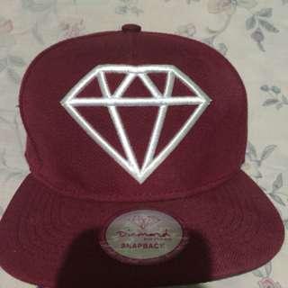 Snapback diamond ORI