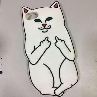 中指貓手機iPhone 6/6s/7 軟殻