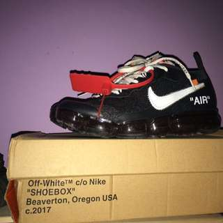 Nike vapormax X offwhite