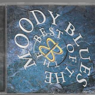 MY PRELOVED CD - THE BEST OF THE MOODY BLUES  /FREE DELIVERY (F7T))