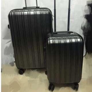 Polo club 黑色行李箱(20吋24吋28吋)