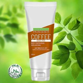 COFFEE SCRUB+MASK BODY CONTOURING