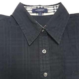 Burberry短襯衫黑色
