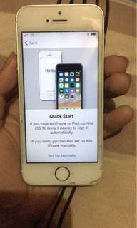Repriced!!! Iphone 5s For Parts *Activation Lock