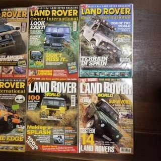 LAND ROVER 雜誌