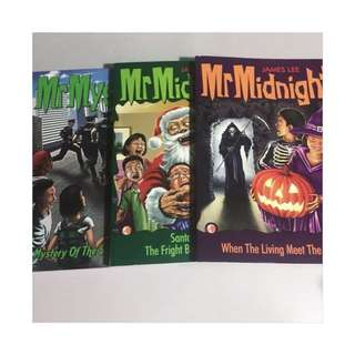 Mr Midnight • Mr Mystery books