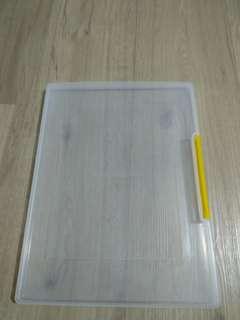 Clear fold case