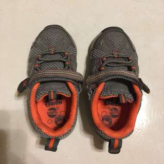 Stride Ride (grey/orange)