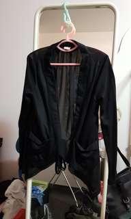 Lalu black cardigan