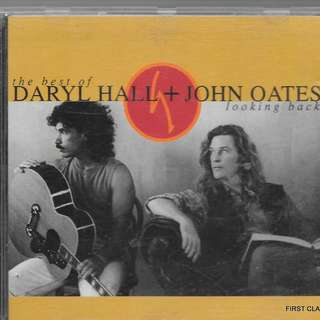 MY PRELOVED CD - DARYL HALL AND JOHN OATS - LOOKING BACK /FREE DELIVERY (F7T))