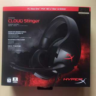 Gaming headset hyper 遊戲耳機