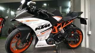 Pre-owned KTM RC 390 for sale!!!
