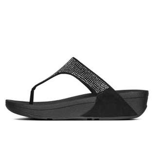 FitFlop SLINKY™  ROKKIT TOE-THONG SANDALS | Black | US Women's Size 7,8,9 | Flip Flop Sandal Slipper