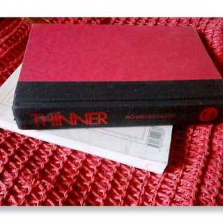 Thinner by Stephen King writing as Richard Bachman (HB)