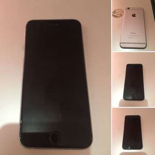 iPhone 6 16GB Spacegrey FU with issue