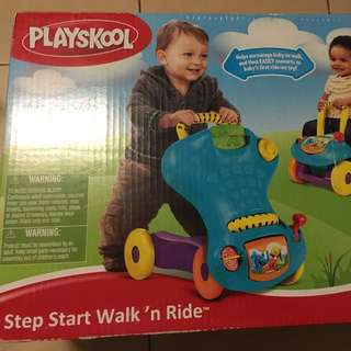 Playskool Step Start Walk n Ride Walker