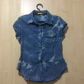 RRJ DENIM BLOUSE