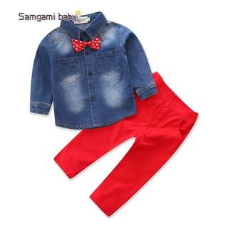 Boy shirt and pants set
