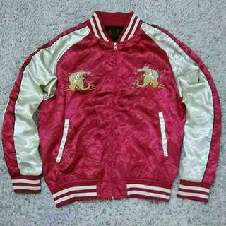 SUKAJAN Embroidery Legend Dragon Souvenirs Jacket