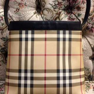 Authentic BURBERRY LONDON small tote