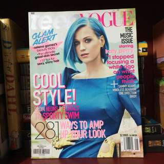 KATY PERRY Teen Vogue