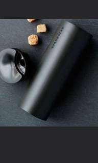 Brand new starbucks black matt bottle