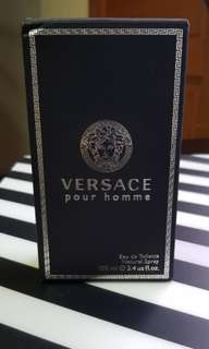 (Almost New) Versace Pour Homme EDT