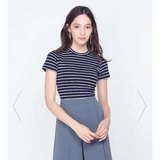 BNWT Fayth Clement Striped Top