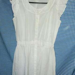 Dress putih Fabulous Collection
