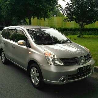 Nissan Grand Livina 1.5XV 2009 Matic..Mantap, tinggal Gas