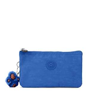 Kipling Creativity L Solid Pouch, Beloved Blue