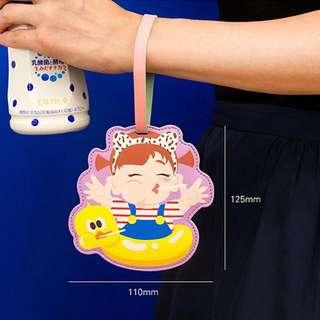 韓版皮質可愛卡通行李牌