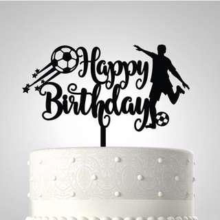 PersonaliZed Birthday Acrylic Cake Topper